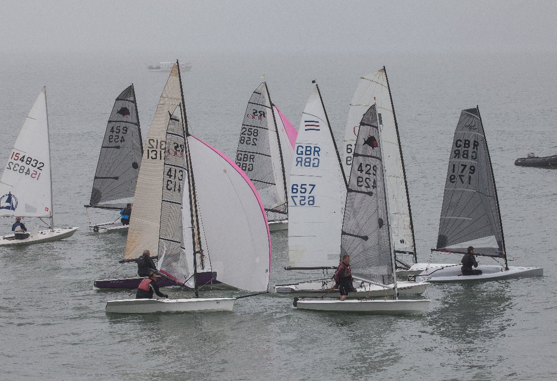 SAILING DINGHIES CARDIGAN BAY REGATTA 18TH AUGUST 2018. Photo Credit to MORLAIS DAVIES.